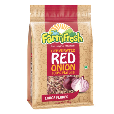 Dehydrated Red Onion (Large Flakes) 200g