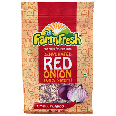 Dehydrated Red Onion (Small Flakes) 200g