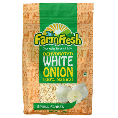 Dehydrated White Onion (Small Flakes) 200g