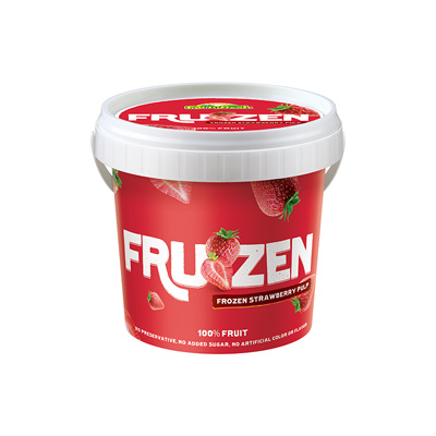 Strawberry Frozen Pulp 500g