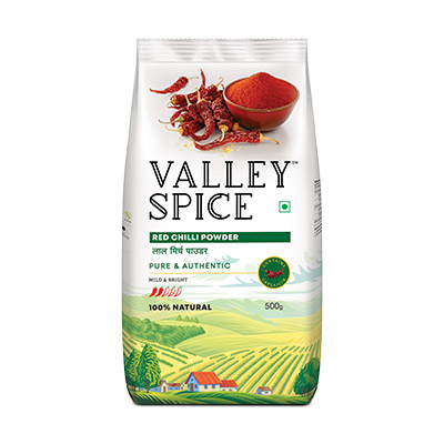 Red Chilli Powder (Mild and Bright)  500g